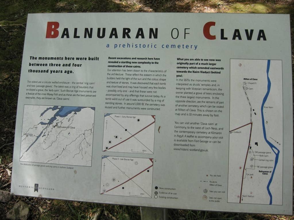 Balnuaran of Clava Inverness